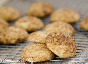 Pumpkin Chai Spiced Snickerdoodles are softer than your typical snickerdoodle, but so much more flavorful thanks to the blend of warm chai spices. Recipe shared with permission granted by Leslie Budewitz, author of CHAI ANOTHER DAY.