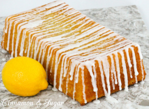 Lemon Lavender Cake...an utterly delicious and elegant combination of flavors and is a yummy treat for breakfast, tea time, or dessert. Recipe shared with permission granted by Amy Patricia Meade, author of GARDEN CLUB MURDER.
