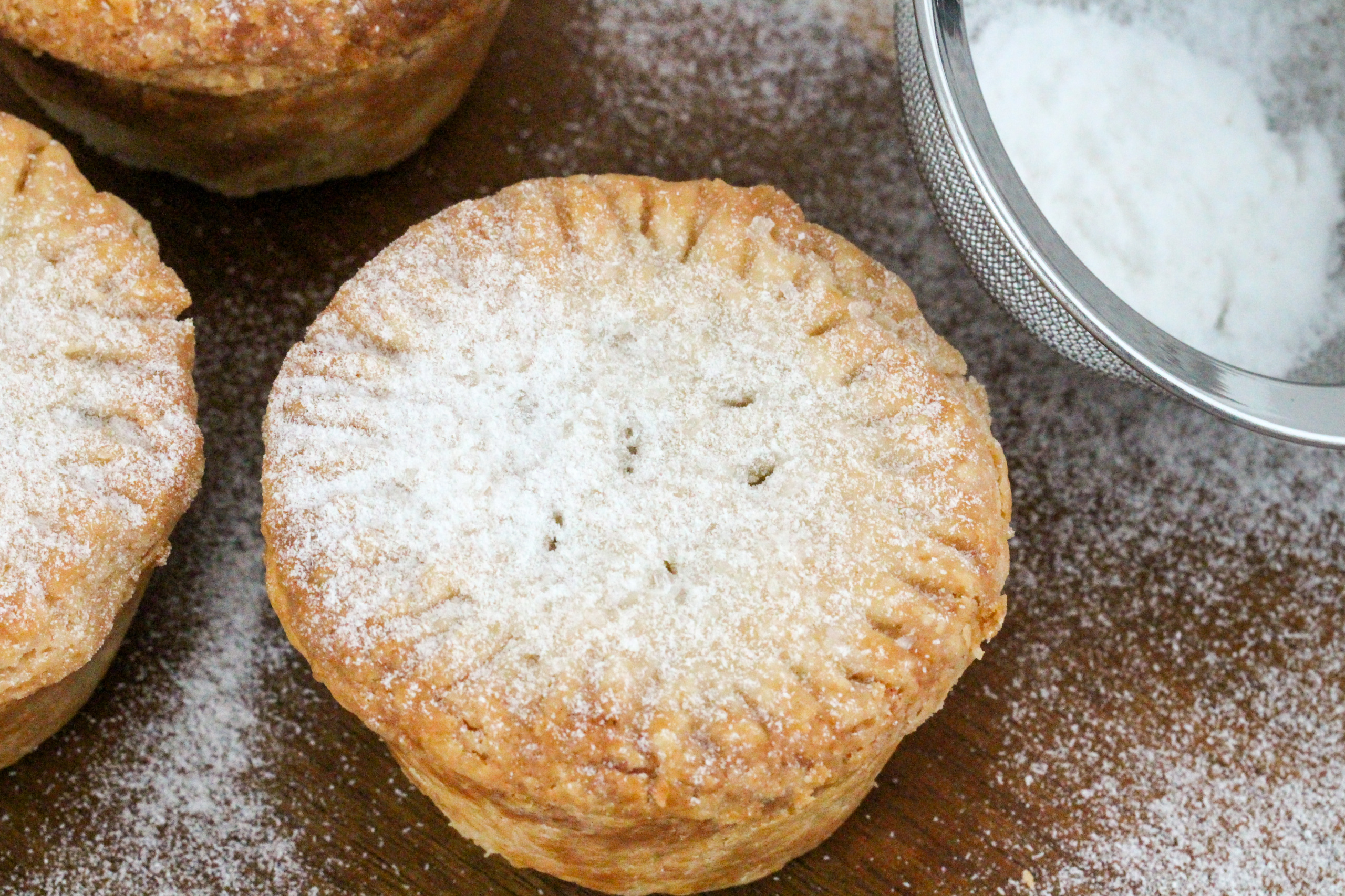 A mixture of dried fruits, sugar, spices, and brandy, Christmas Mince Pie is a traditional British holiday dessert. Recipe shared with permission granted by H.Y. Hanna, author of THE MOUSSE WONDERFUL TIME OF THE YEAR.