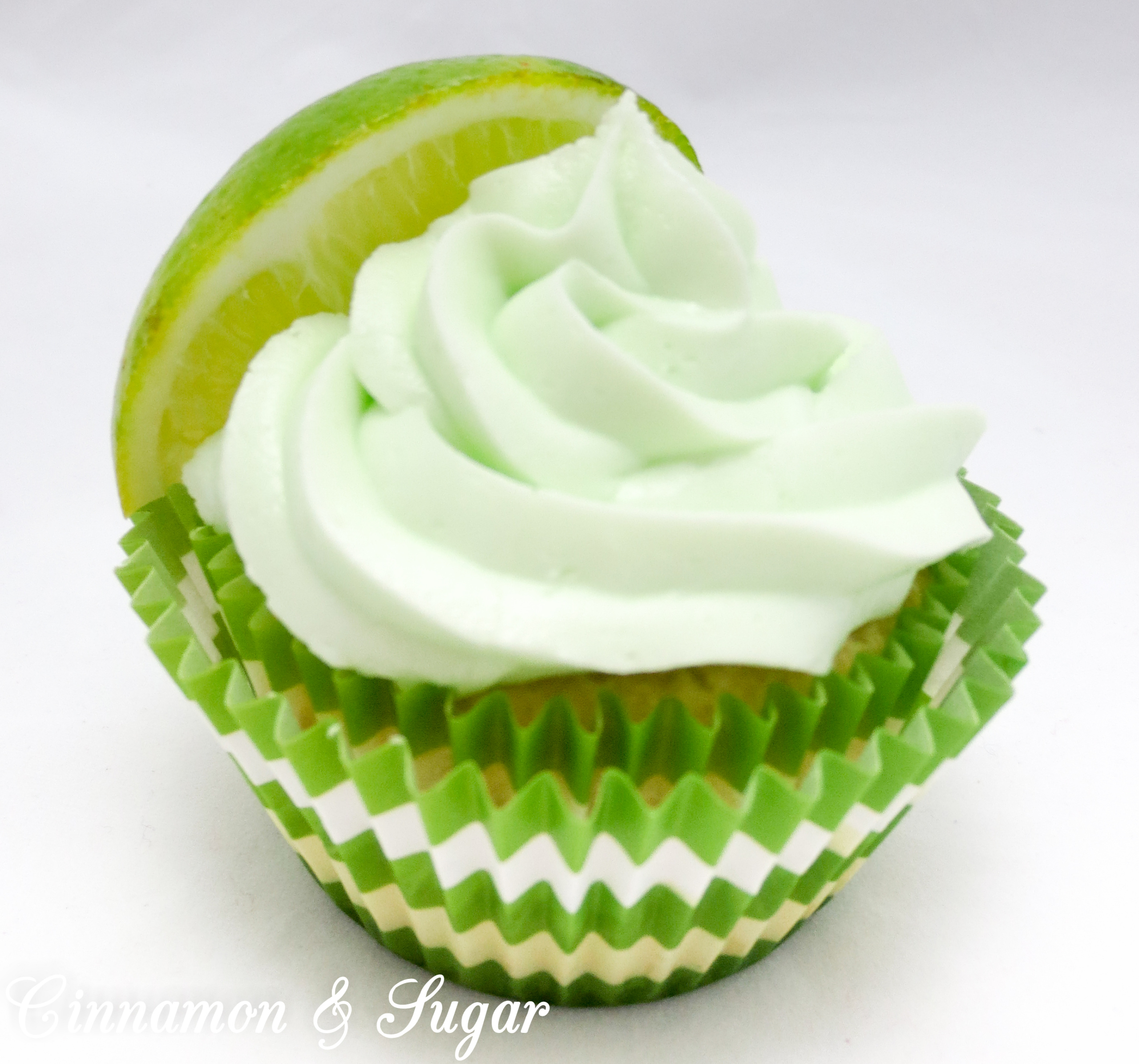 Based on the popular Gimlet Cocktail, these Gimlet Cupcakes replicate the flavor by using layers of premium gin and zesty fresh limes. Recipe shared from cozy mystery SPRINKLES OF SUSPICION by Kim Davis.