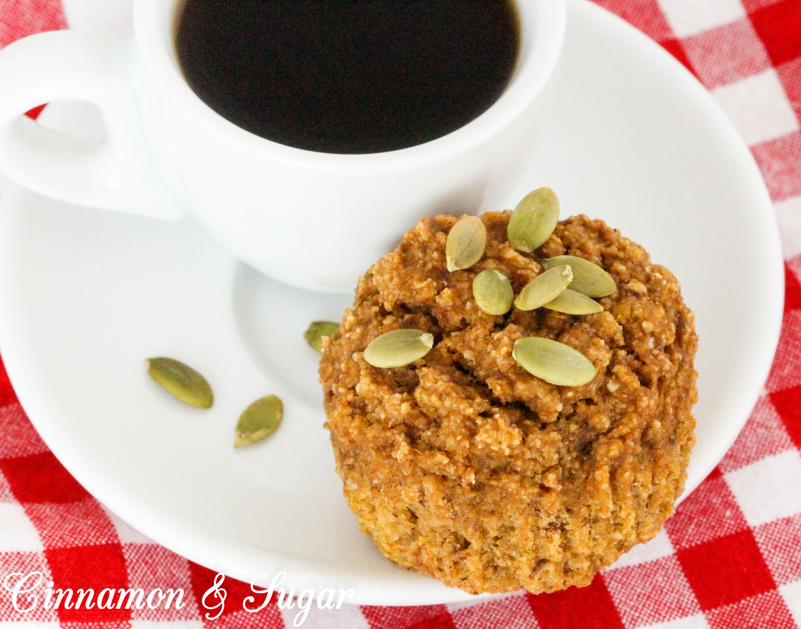 Both vegan and gluten-free, Pumpkin Quinoa Muffins caters not only to dietary restrictions but is a delicous, healthy treat for everyone who enjoys moist, yummy muffins! Recipe shared with permission granted by Debra H. Goldstein, author of THREE TREATS TOO MANY.