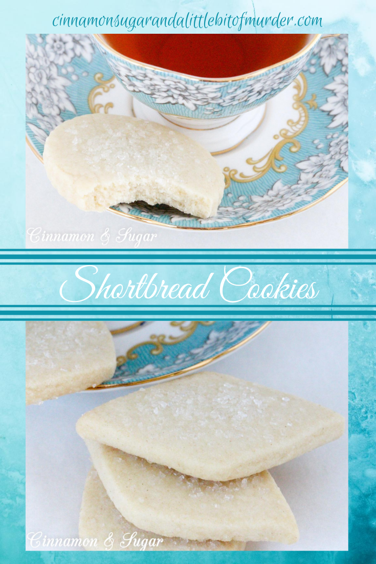 With just five staple ingredients, Vicki's Shortbread Cookies are a snap to make. And best of all, they are delicious and a delightful treat to serve with tea or coffee. Recipe shared with permission granted by Vicki Delany, author of TEA & TREACHERY.