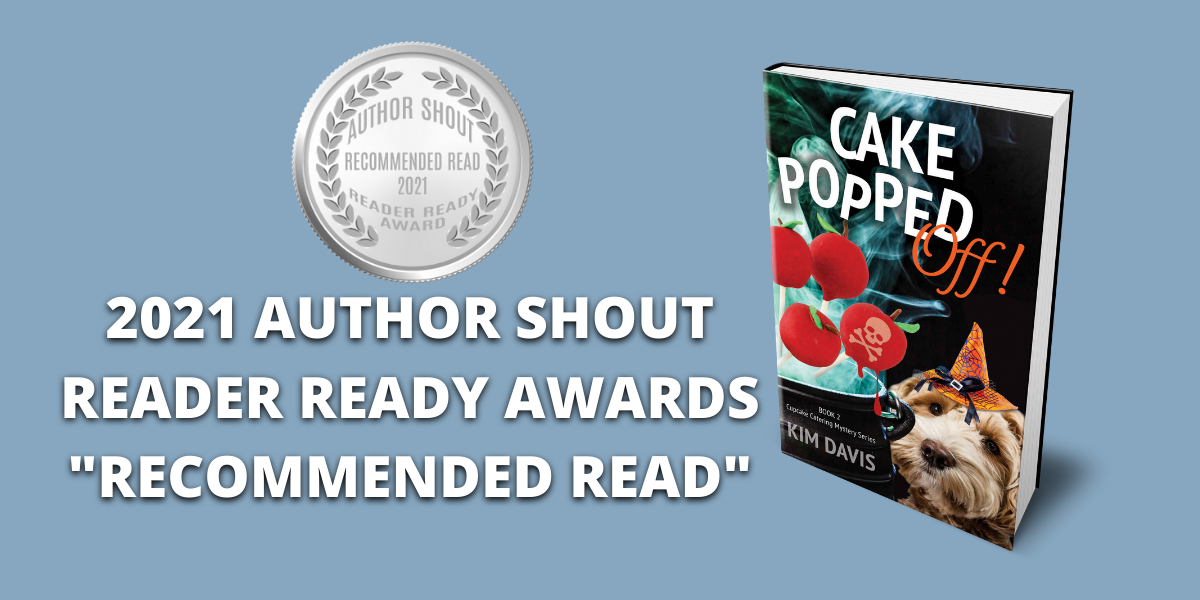 "#giveaway & #sale CAKE POPPED OFF has won the ""Recommended Read"" award in the Reader Ready Award Contest! To celebrate, CAKE POPPED OFF is on sale for $0.99, plus I'm giving away a print copy."