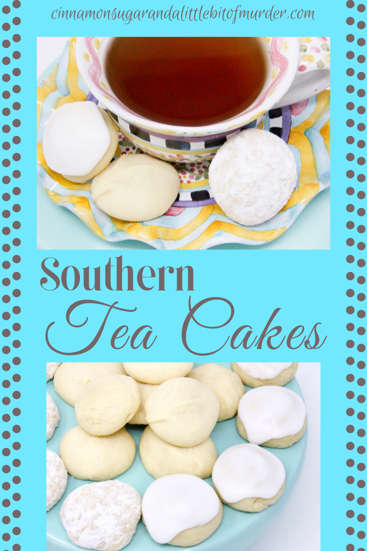 Swan's Southern Tea Cakes, are delightful traditional cookies served with tea. With only six pantry and refrigerated staples, these mix up quickly and make a large enough batch to share with family and friends. Recipe shared with permission granted by Bree Baker and Poisoned Pen Press, publisher of PARTNERS IN LIME